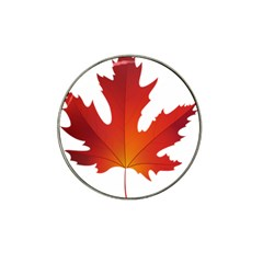 Autumn Maple Leaf Clip Art Hat Clip Ball Marker (4 Pack)