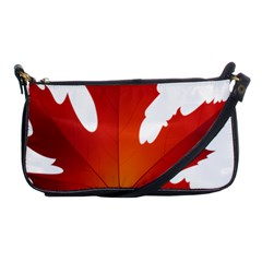 Autumn Maple Leaf Clip Art Shoulder Clutch Bags