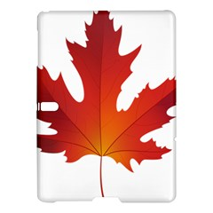 Autumn Maple Leaf Clip Art Samsung Galaxy Tab S (10 5 ) Hardshell Case