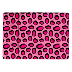 Cute Pink Animal Pattern Background Samsung Galaxy Tab 10 1  P7500 Flip Case