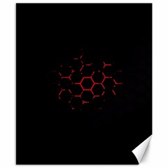 Abstract Pattern Honeycomb Canvas 8  X 10