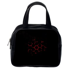 Abstract Pattern Honeycomb Classic Handbags (one Side)