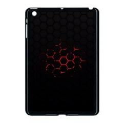 Abstract Pattern Honeycomb Apple Ipad Mini Case (black)