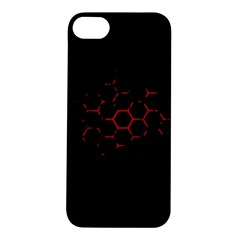 Abstract Pattern Honeycomb Apple Iphone 5s/ Se Hardshell Case