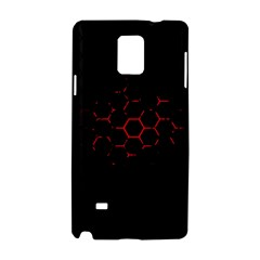 Abstract Pattern Honeycomb Samsung Galaxy Note 4 Hardshell Case