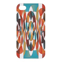 Colorful Geometric Abstract Apple Iphone 4/4s Hardshell Case