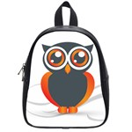 Owl Logo School Bags (Small)  Front