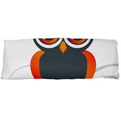 Owl Logo Body Pillow Case Dakimakura (two Sides)