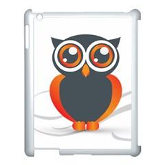Owl Logo Apple Ipad 3/4 Case (white)