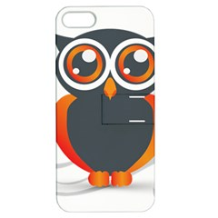 Owl Logo Apple Iphone 5 Hardshell Case With Stand