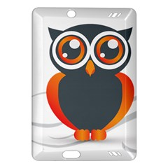 Owl Logo Amazon Kindle Fire Hd (2013) Hardshell Case