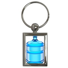 Large Water Bottle Key Chains (rectangle)