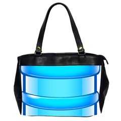 Large Water Bottle Office Handbags (2 Sides)