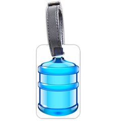 Large Water Bottle Luggage Tags (one Side)
