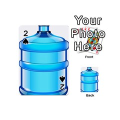 Large Water Bottle Playing Cards 54 (mini)