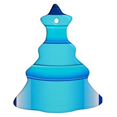 Large Water Bottle Christmas Tree Ornament (two Sides)
