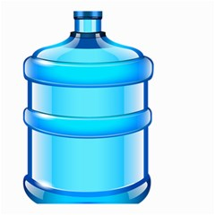 Large Water Bottle Small Garden Flag (two Sides)