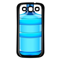 Large Water Bottle Samsung Galaxy S3 Back Case (black)