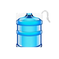 Large Water Bottle Drawstring Pouches (small)