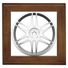 Wheel Skin Cover Framed Tiles