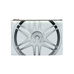Wheel Skin Cover Cosmetic Bag (medium)