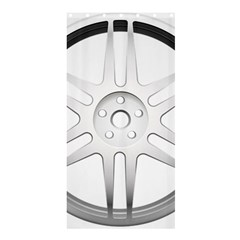 Wheel Skin Cover Shower Curtain 36  X 72  (stall)