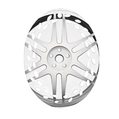 Wheel Skin Cover Ornament (oval Filigree)
