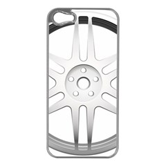 Wheel Skin Cover Apple Iphone 5 Case (silver)