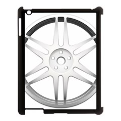 Wheel Skin Cover Apple Ipad 3/4 Case (black)