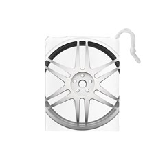 Wheel Skin Cover Drawstring Pouches (small)