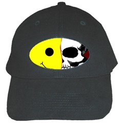 Skull Behind Your Smile Black Cap