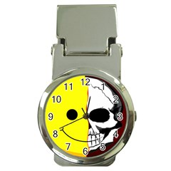 Skull Behind Your Smile Money Clip Watches