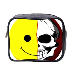Skull Behind Your Smile Mini Toiletries Bag 2 Side