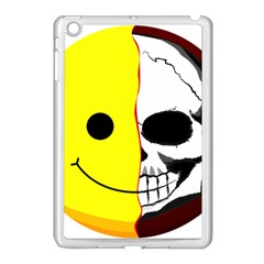 Skull Behind Your Smile Apple Ipad Mini Case (white)