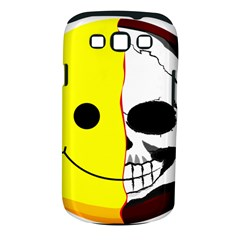 Skull Behind Your Smile Samsung Galaxy S Iii Classic Hardshell Case (pc+silicone)