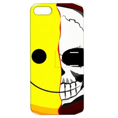 Skull Behind Your Smile Apple Iphone 5 Hardshell Case With Stand