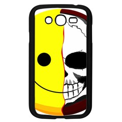 Skull Behind Your Smile Samsung Galaxy Grand Duos I9082 Case (black)