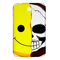 Skull Behind Your Smile Samsung Galaxy Tab 3 (7 ) P3200 Hardshell Case