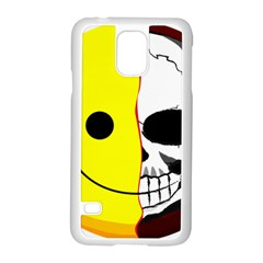 Skull Behind Your Smile Samsung Galaxy S5 Case (white)