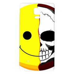 Skull Behind Your Smile Galaxy Note 4 Back Case