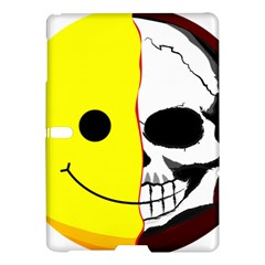 Skull Behind Your Smile Samsung Galaxy Tab S (10 5 ) Hardshell Case