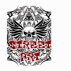 Tattoo Tribal Street Art Small Garden Flag (two Sides)