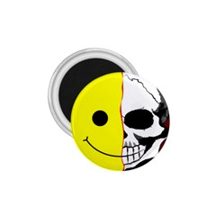 Skull Behind Your Smile 1 75  Magnets