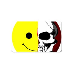 Skull Behind Your Smile Magnet (name Card)