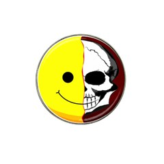 Skull Behind Your Smile Hat Clip Ball Marker (10 Pack)