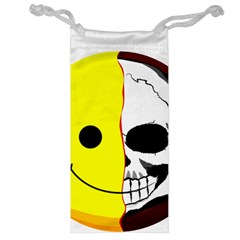 Skull Behind Your Smile Jewelry Bag