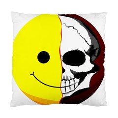 Skull Behind Your Smile Standard Cushion Case (one Side)