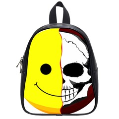 Skull Behind Your Smile School Bags (small)