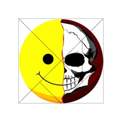 Skull Behind Your Smile Acrylic Tangram Puzzle (4  X 4 )