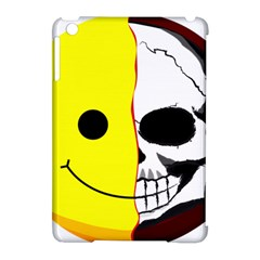 Skull Behind Your Smile Apple Ipad Mini Hardshell Case (compatible With Smart Cover)